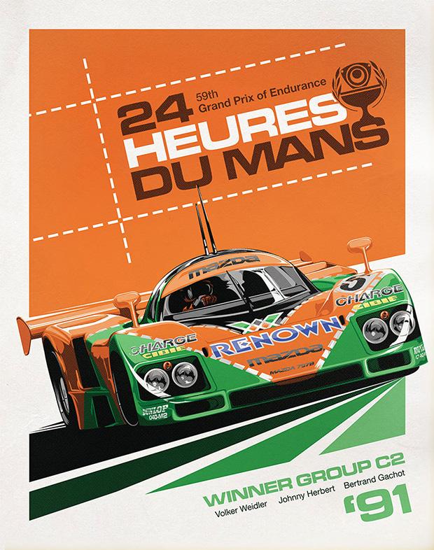 787B 24 Hours Le Mans