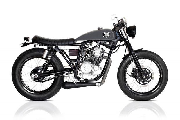 Deus Café Scorpio Motorcycle