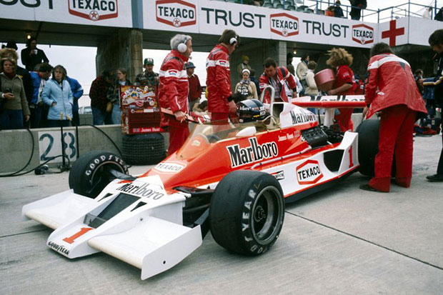 the mclaren m26 - want to own a legendary piece of f1 history