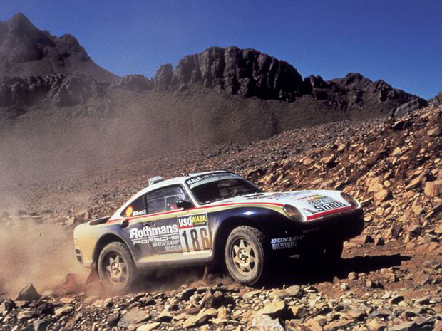 1984 Paris Dakar Porsche 911 (953)