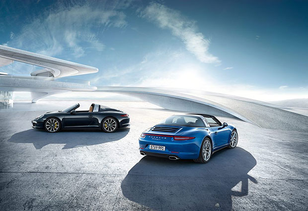 The new Porsche 911 Targa models