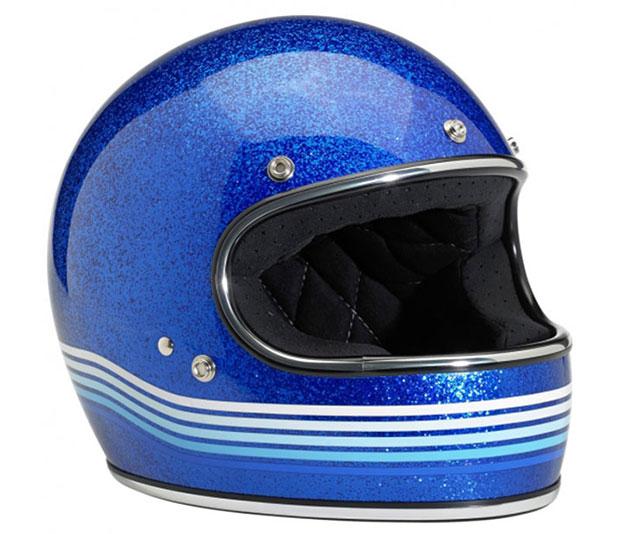 Biltwell Gringo LE Helmet - Spectrum Blue
