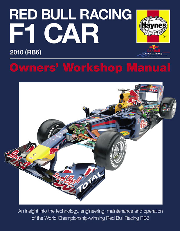 Haynes Red Bull Racing F1 Car Owners Workshop Manual Book Formula 1