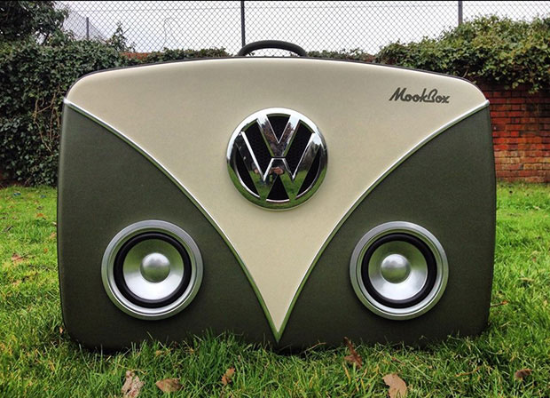 Mookbox Suitcase Sound systems
