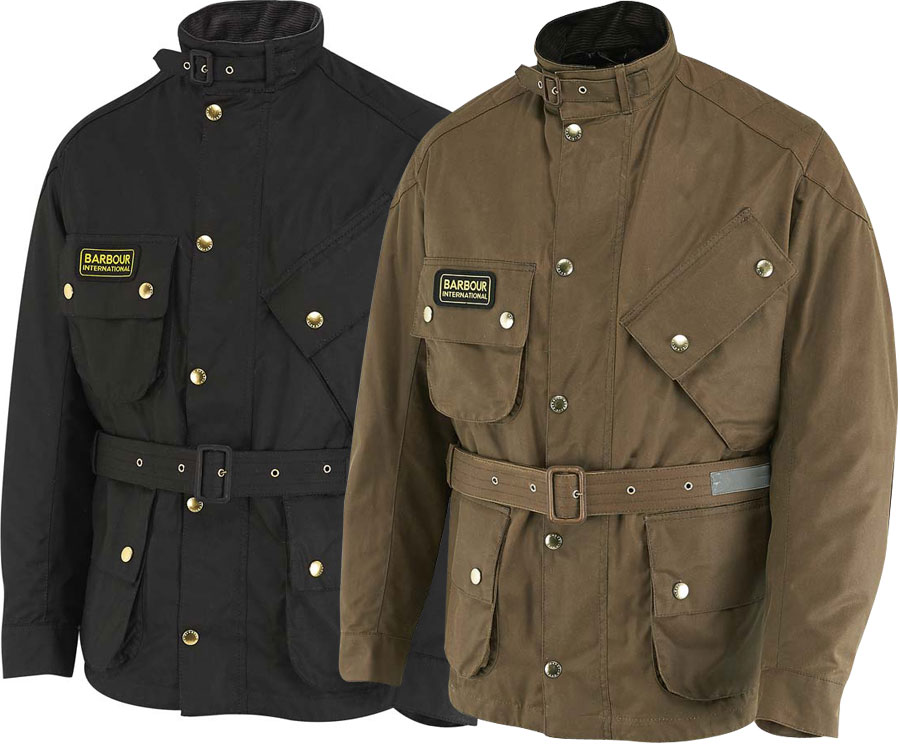barbour jacket motorcycle