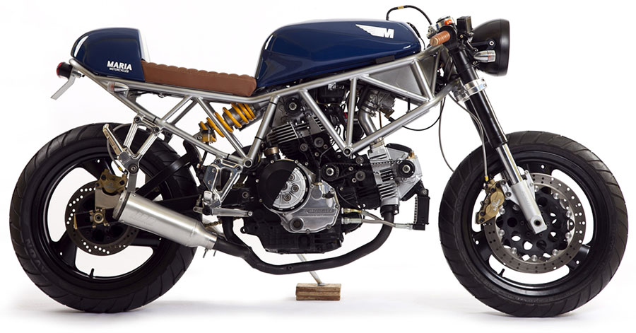 The Italian Sniper Ducati SS750 by Maria Motorcycles