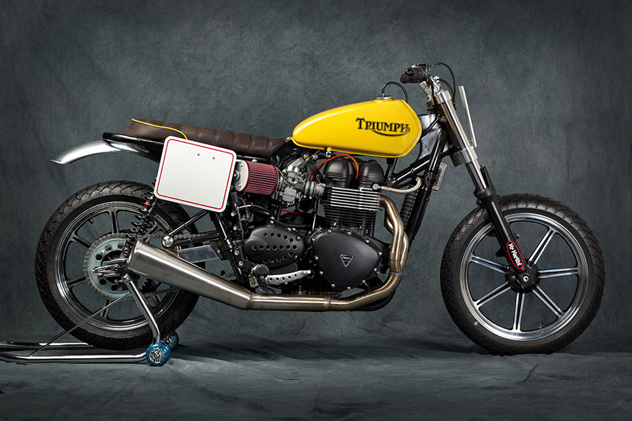Triumph Bonneville Shorty by Mr Martini