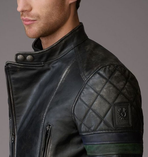 Belstaff Leather Jacket Motorcycle
