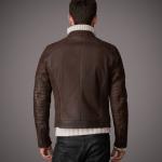 Belstaff Buchanan Jacket in Waxed Grain Leather