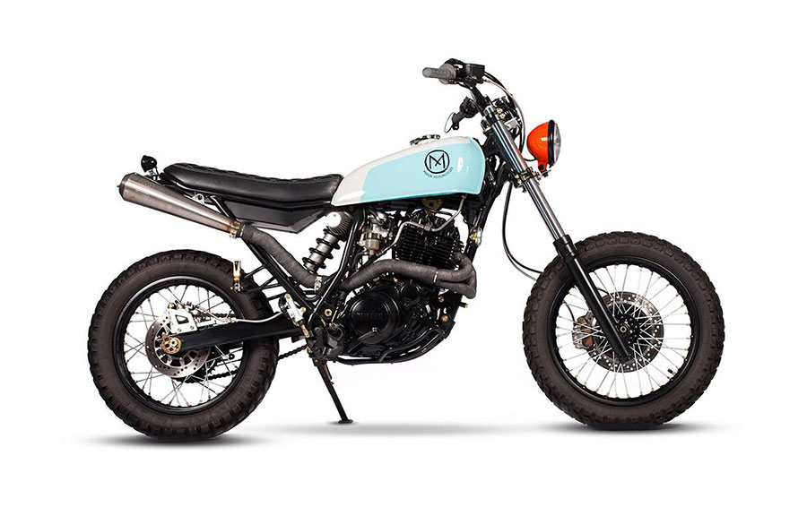 Dirty Geisha Yamaha XT600 by Maria Motorcycles