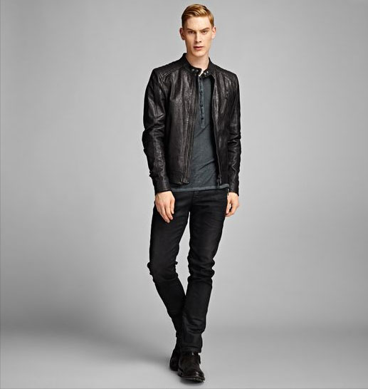 Belstaff Leather Jacket K Racer
