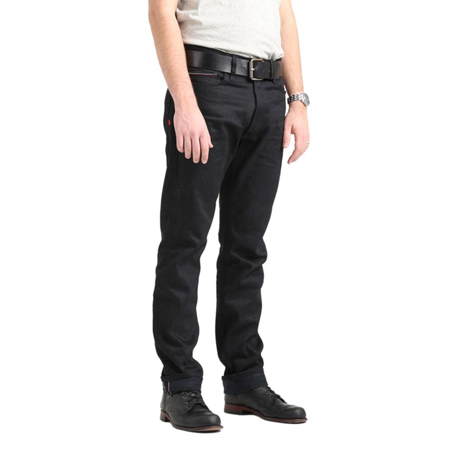 Slim Fit - 1976 Black Standard Motorcycle Jeans