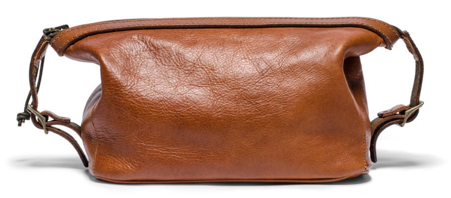 Stephen Kenn - Soft leather Dopp kit