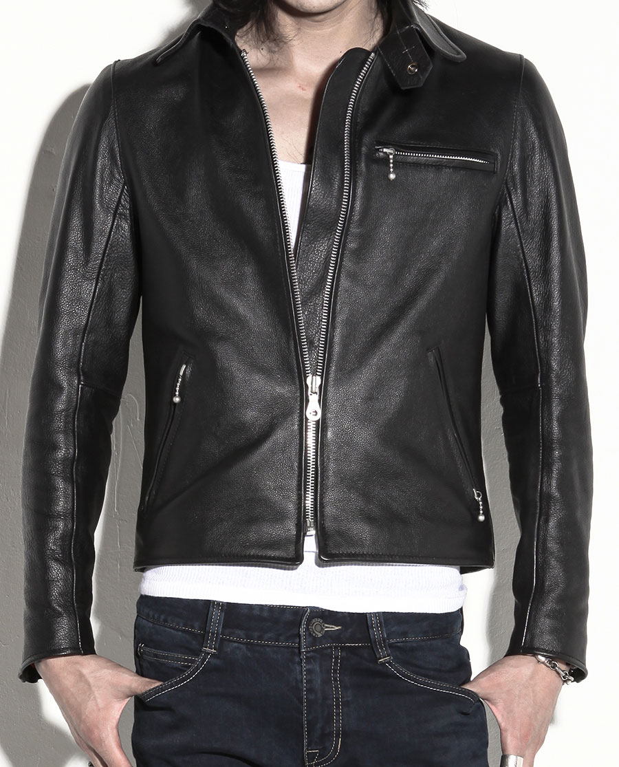 SevenFifty Leather Jacket by uglyBROS