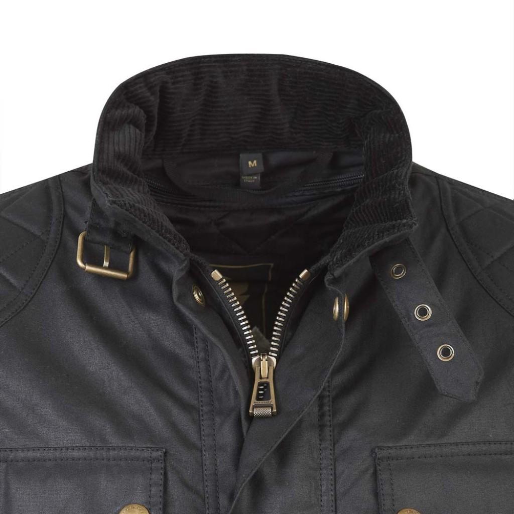 Belstaff Waxed Cotton Motorcycle Jacket