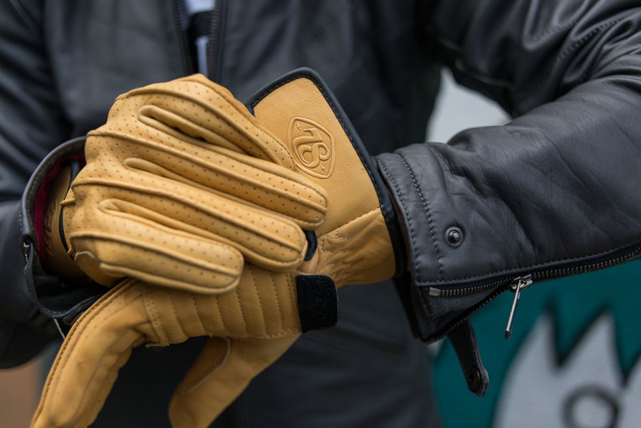 Speed Leather Gloves by 78 Motor Co.