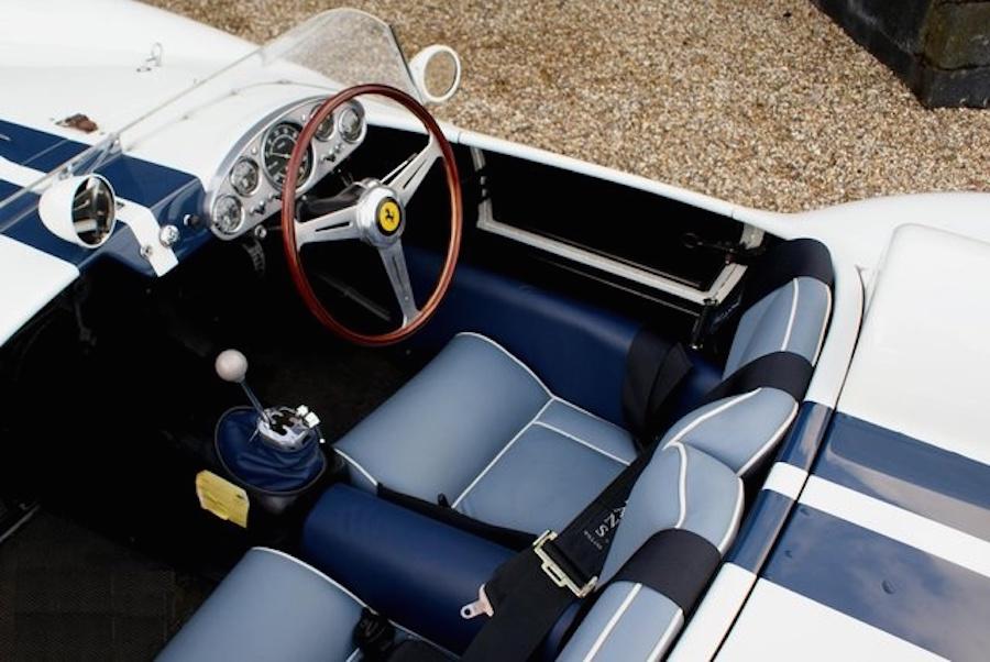 Ferrari 250 TR 1957 interior