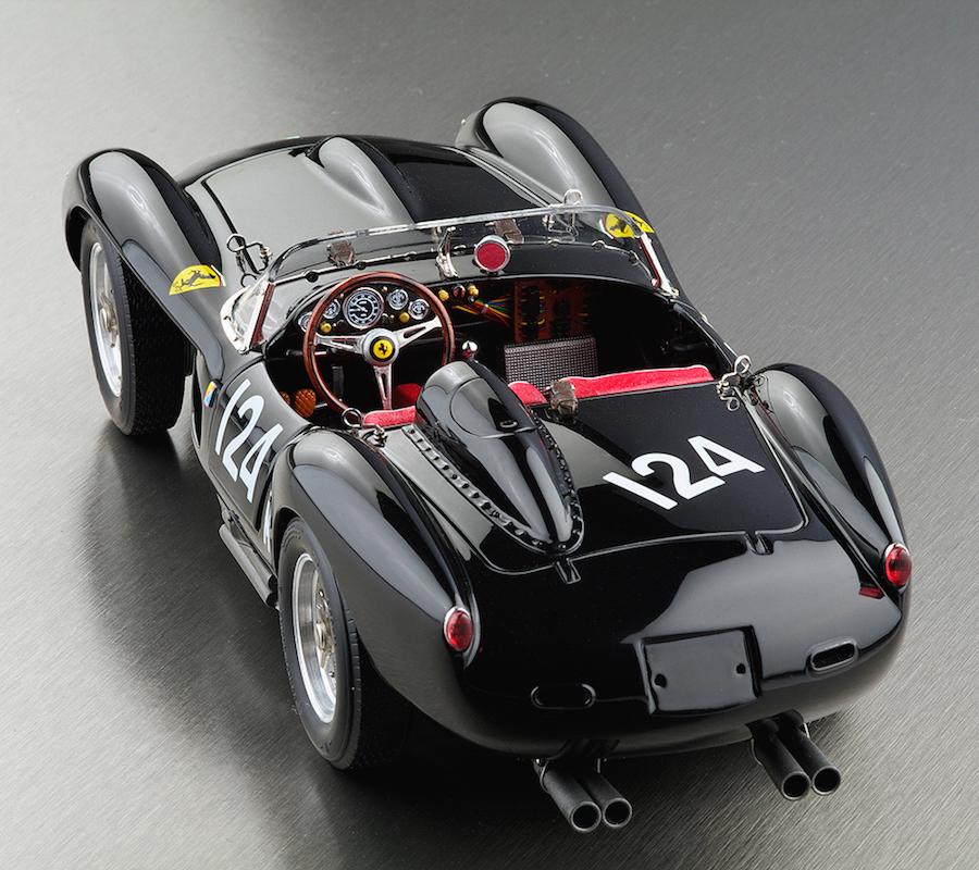 Ferrari 250 TR black interior