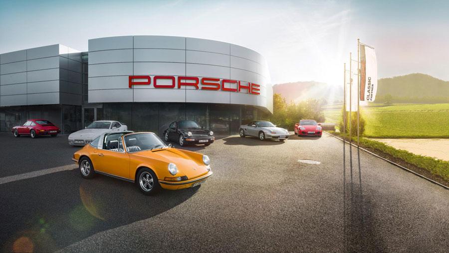 Porsche Classic Centre in Gelderland