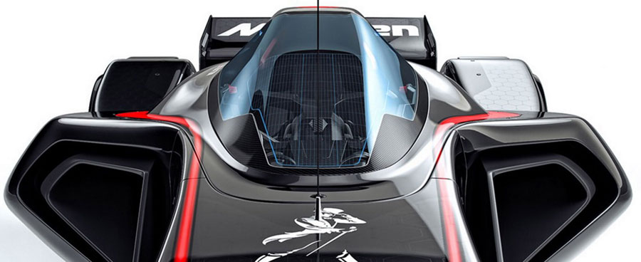 The McLaren MP4-X