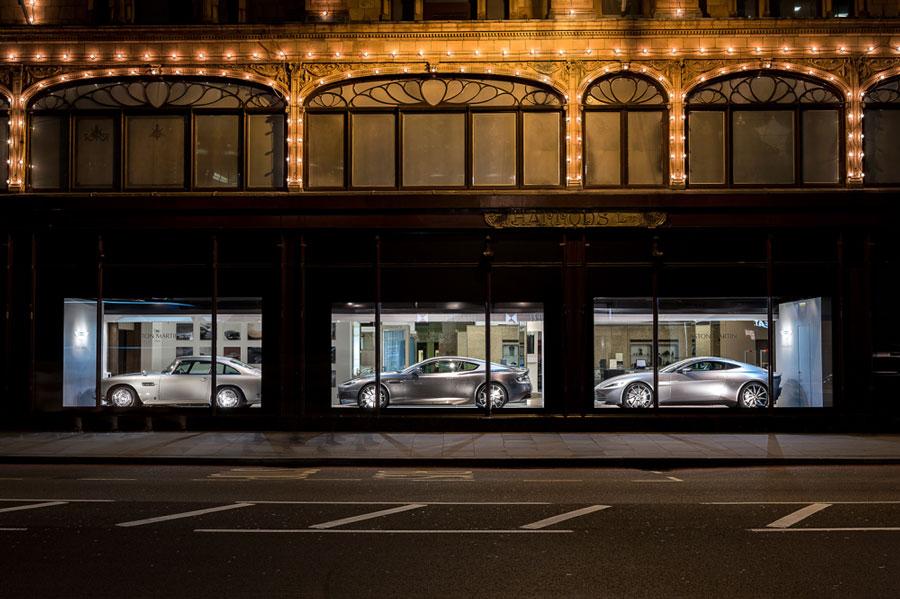 Aston Martin and Harrods