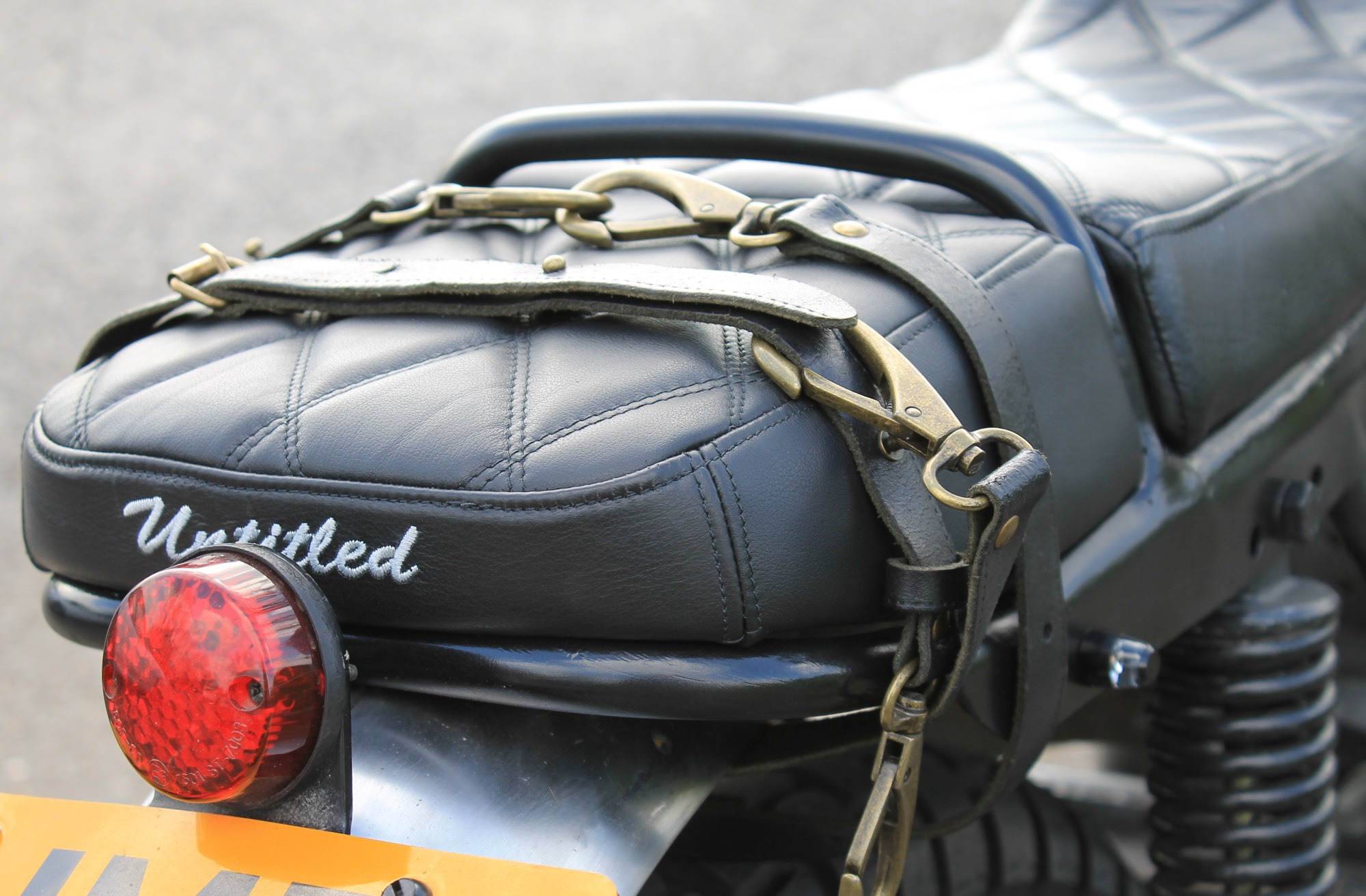 Custom Motorcycle Luggage Straps Motorcycle - King of Fuel