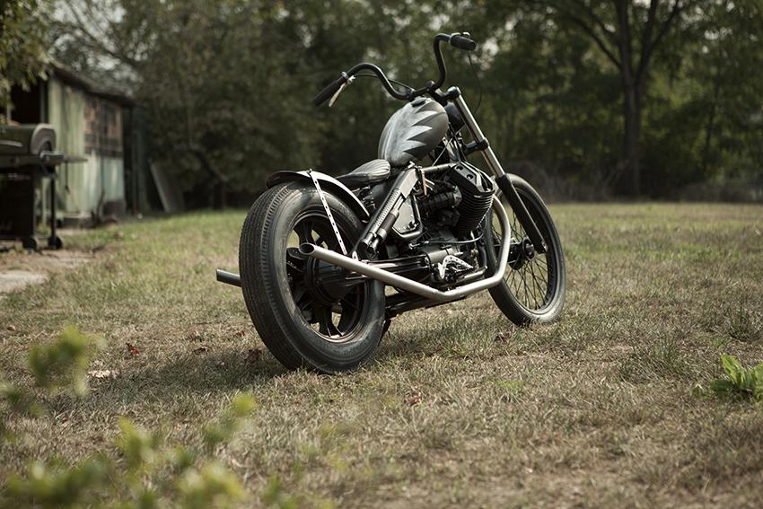 ANVIL MOTOCICLETTE RAISE HELL Side profile