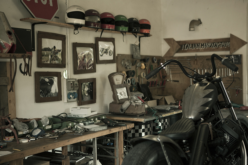 ANVIL MOTOCICLETTE RAISE HELL Workroom
