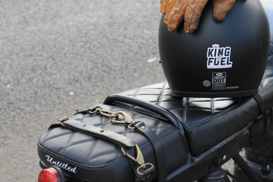 Leather Custom Luggage Strap on UMC-042 Recycled