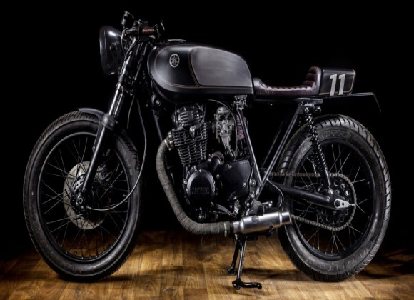Yamaha XS400 Dark Bullet by Macco Motors