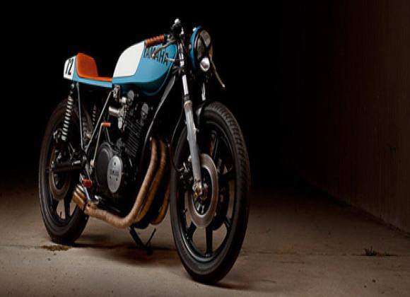 The Girl Next Door – 1977 Yamaha XS750 Café Racer